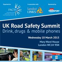 UK Road Safety Summit - Drink, Drugs and Mobile Phones